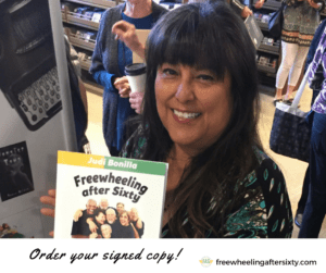 Order a signed copy of Freewheeling After Sixty